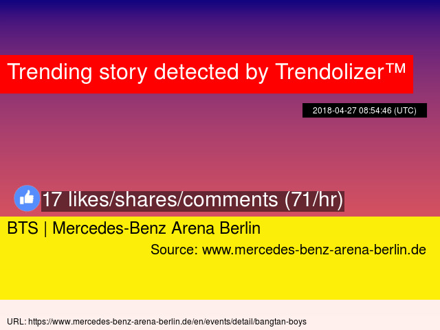 Bts Mercedes Benz Arena Berlin