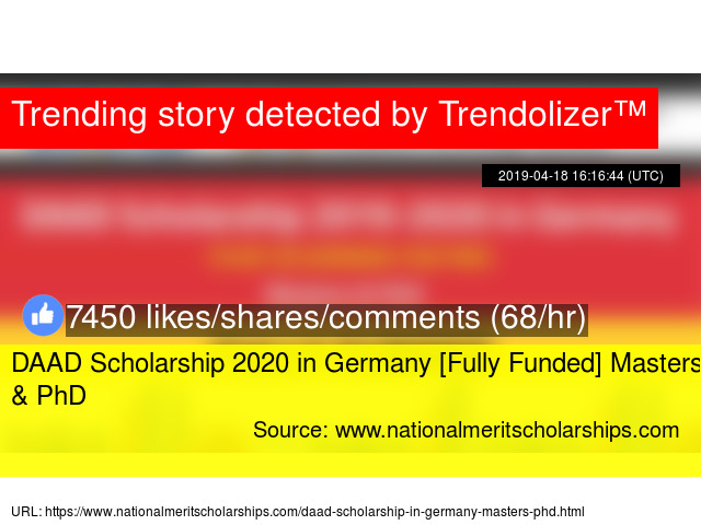 DAAD Scholarship 2020 in Germany [Fully Funded] Masters &