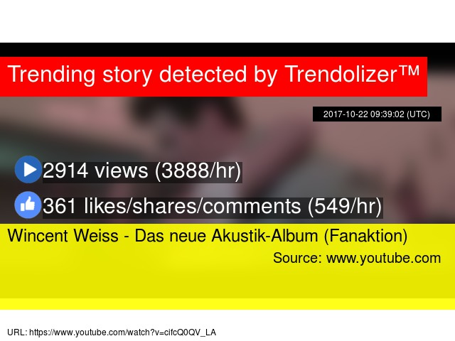 wincent weiss youtube